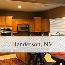 Rental info for Henderson Luxurious 5 + 4 in the Henderson area
