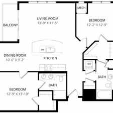Rental info for 1 Bedroom Apartment - The Cor Features Studio.