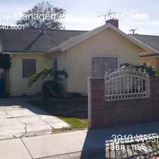 Rental info for 3910 West 64th Street in the Los Angeles area