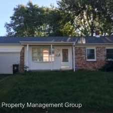 Rental info for 3431 N Eaton Avenue in the Indianapolis area