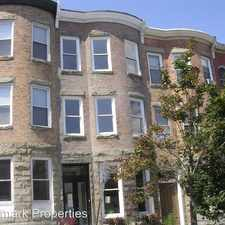 Rental info for 204 East Chase Street in the Mid-Town Belvedere area