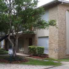 Rental info for 102 WEST RAMPART in the San Antonio area