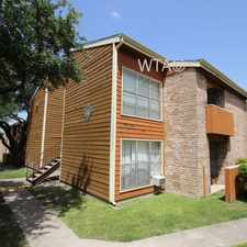 Rental info for 4615 GARDENDALE in the San Antonio area