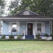 Rental info for 3181 Yale in the Memphis area