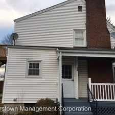 Rental info for 500 Park Lane in the Hagerstown area