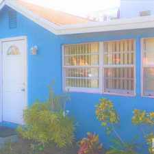 Rental info for 605 Northeast 27th Street in the Fort Lauderdale area