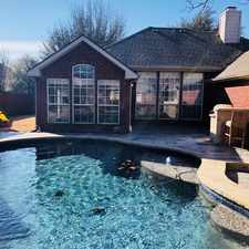 Rental info for 8306 Tanglerose Drive in the Frisco area