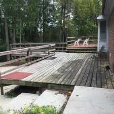 Rental info for Beautiful, Cozy Home With Large Deck. in the Fayetteville area