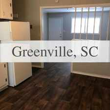 Rental info for 2 Bed 1 Bath Completely Updated Unit in the Greenville area