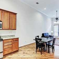 Rental info for Beautiful 3-Story, 2 Bedroom Townhome In Courty... in the Houston area