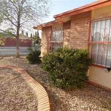 Rental info for In The Location That Works. Washer/Dryer Hookups! in the El Paso area