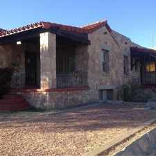 Rental info for House For Rent In El Paso. in the El Paso area