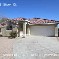 Rental info for 6163 S. Sharon Ct. in the Chandler area