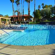 Rental info for JUST LISTED! Adorable 1 Bedroom/ 1 Bath Condo in Palm Springs Villas!
