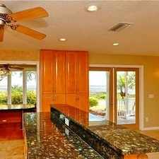 Rental info for Gorgeous Direct Bay Front Home In Safety. in the 34695 area