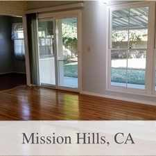 Rental info for Welcome To This Ready To Move-In Home In A Desi... in the San Fernando area