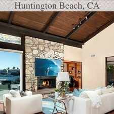 Rental info for 4 Bedrooms House - Situated On A Premier Huntin... in the Huntington Beach area