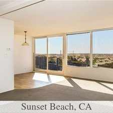 Rental info for Sunset Beach Beachfront Home For Lease. 2 Car G... in the Huntington Beach area