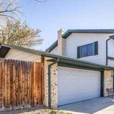 Rental info for Find Yourself In This Beautiful Home! in the Broomfield area