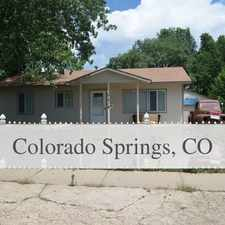 Rental info for 1, 200 - 3 Bed, 1 Bath Cozy Home. in the Colorado Springs area