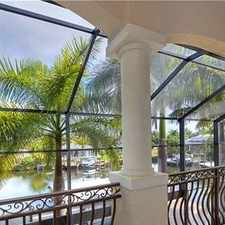 Rental info for Cape Coral Luxurious 5 + 5 in the Cape Coral area