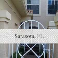 Rental info for Gated Community Of Arielle On Palmer Ranch. Sin...
