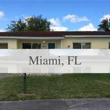 Rental info for Completely Updated, Centrally Located By The Ai... in the Miami area