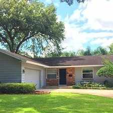 Rental info for Wonderful Winter Park Home In Brookshire Heights! in the Orlando area