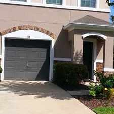 Rental info for 3 Bedroom 2 Bath Townhome In Plantation. Pet OK! in the Jacksonville area