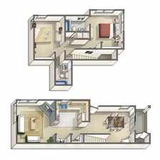Rental info for ($495/$990) 1 BD/BA in 2 BD apartment - from April 1 - The Lexington