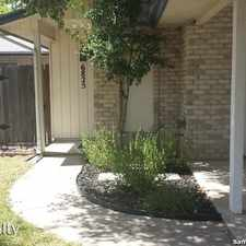 Rental info for 6825 Grass Valley in the San Antonio area