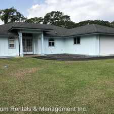Rental info for 196 Noelani Loop in the Hilo area