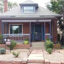 Rental info for 511 S Pennslyvania St. in the Denver area