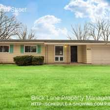 Rental info for 8211 E 37th Street in the Indianapolis area