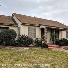 Rental info for 2040 San Anseline in the Long Beach area