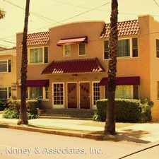 Rental info for 3912-18 E. 1ST ST. in the Long Beach area