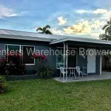 Rental info for Charming 2/1 in North Andrews Gardens in the Fort Lauderdale area