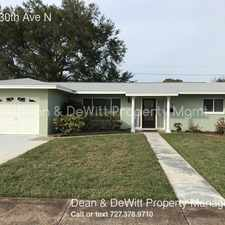 Rental info for 6149 30th Ave N in the St. Petersburg area