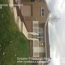 Rental info for 752 Garlow Boulevard in the 15239 area