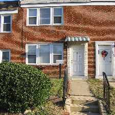 Rental info for This 3BR, 1 Bath Townhome Has Recently Been Rem... in the Baltimore area