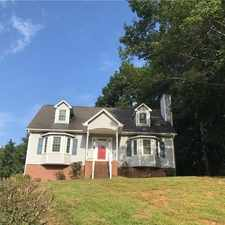 Rental info for Beautiful Cape Code Home In Forsyth County. in the Winston-Salem area