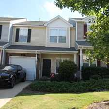 Rental info for This Townhouse Is A Must See. Single Car Garage! in the Charlotte area
