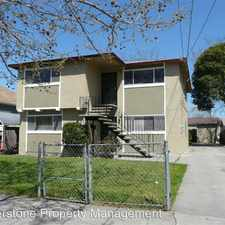 Rental info for 326 N. 19th. St. #A in the San Jose area