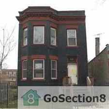 Rental info for Excellent 4BR apt for rent WILL TAKE 3BR vchr - section 8 tenants wanted in the Chicago area