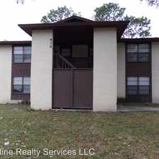 Rental info for 474 D Bentwood Ln 474 D BW in the Jacksonville area