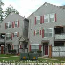 Rental info for 12737 Daybreak Circle in the Newport News area