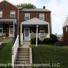 Rental info for 1058 Downton Rd in the Baltimore area