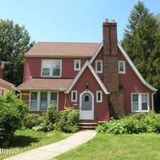Rental info for 938 Roanoke Road, in the Cleveland area