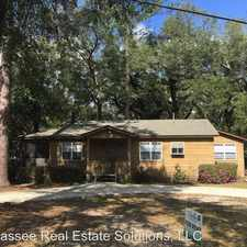 Rental info for 1110 Alachua in the Tallahassee area