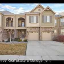 Rental info for 9279 N Prairie Dune Way in the Eagle Mountain area